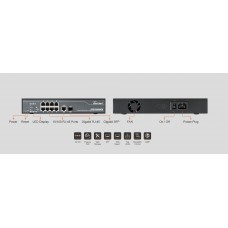 SWITCH AIRLIVE POE-FSH808PW 8-PORT FAST ETHERNET 1-PORT SFP